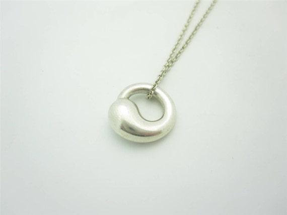 Tiffany co elsa peretti small sterling silver eternal aloadofball Images