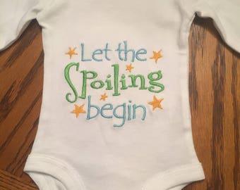 Preemie, Newborn, 0-3 Spoiling onesies