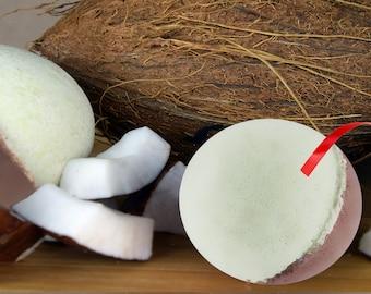 Coconut Icecream Bath Bomb
