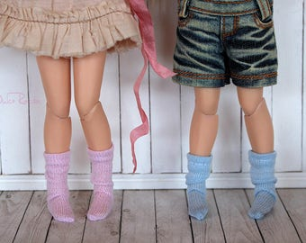 Socks and stockings pink-Blue