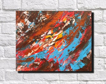 Abstract Print Modern Art Contemporary Abstract Landscape Art Print James Lucas