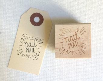 """1"""" NAIL MAIL Stamp"""