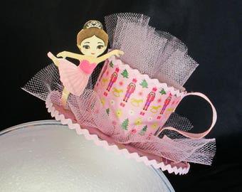 Sugar Plum Fairy Teacup Headband Fascinator
