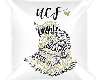 UCF Square Pillow