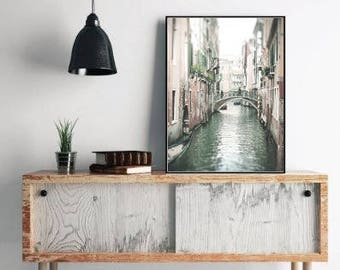 Venice Italy Photography, Large Wall Art Prints, Venice Canal, Europe Art Print, Home Decor, Venice Photo, Venice Printable Instant Download