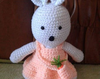 Easter crocheted bunny