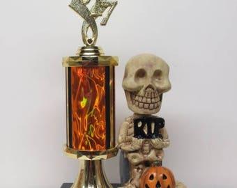 Dia De Los Muertos Day of the Dead Halloween Costume Contest Winner Trophy FREE ENGRAVING