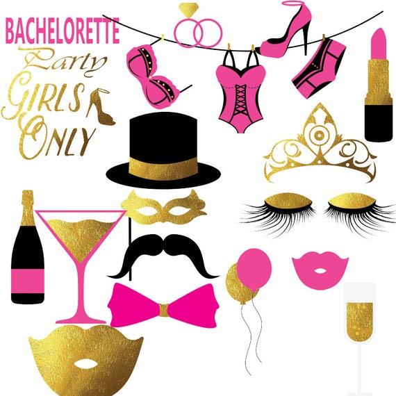 bachelorette clipart hen party clip art bra clipart rh etsy com bachelorette party cliparts baccalaureate clipart
