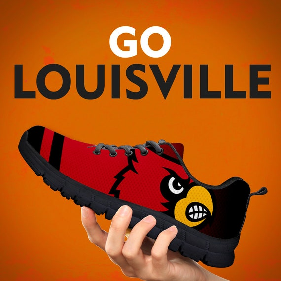 Gift Louisville Gift Custom Sneakers Gift Kids Mens Sizes Shoes Collector Sports Trainers White Womens Black Running rUq1rTZ