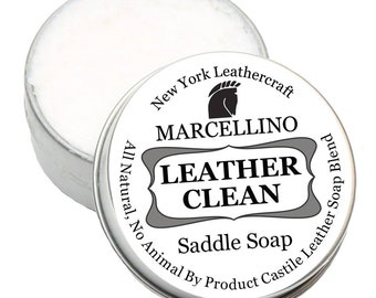 Leather Saddle Soap Clean, leather care, protection all natural