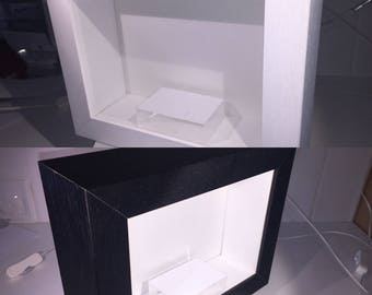 Frame your own  'Cameras ... Framed'  wall or shelf art, choice of frame & backing