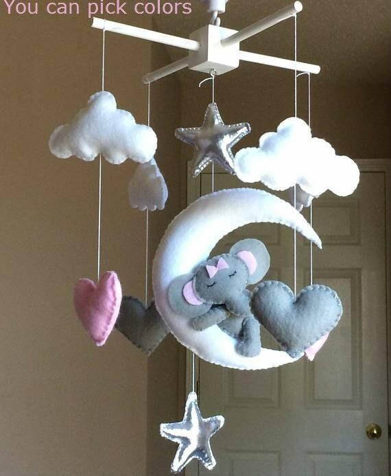 krippe mobile baby mobile stern mobile junge baby baby. Black Bedroom Furniture Sets. Home Design Ideas