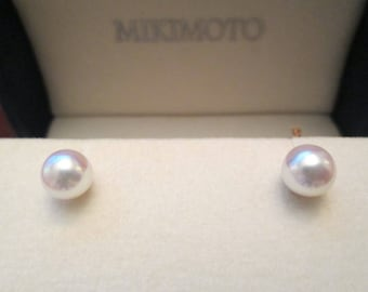 aky errngs a gold pearl mkmt mikimoto prl akoya white drp drop earrings windsor