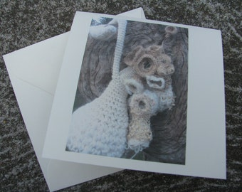 Doodlebirds Dwelling by social threads Greeting Card