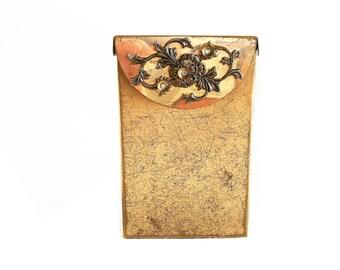 Vintage Metal Cigarette Box Case