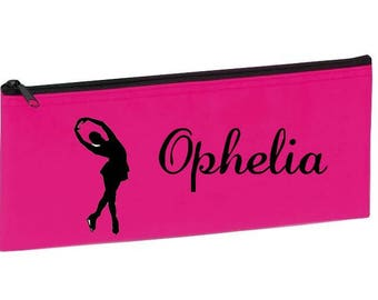 School Kit pink skating personalized with name