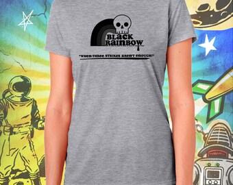 ZNATION / Black Rainbow Logo / Women's Zombie Gray Performance T-Shirt