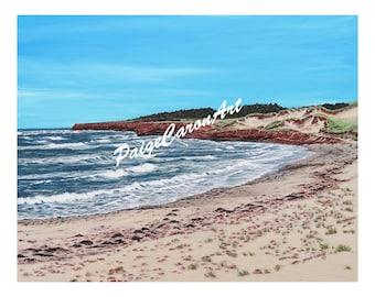 Cavendish Beach, PEI Digital Reproduction Print