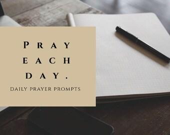 Prayer Journal Prompts