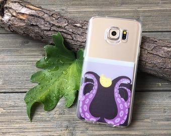 Ursula Themed Samsung Galaxy Case, Choose your model