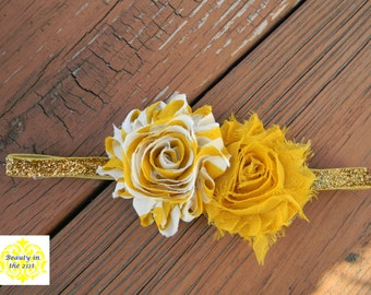 Golden Mustard/Yellow Headband