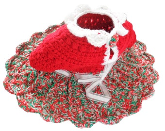 Christmas Dress for Babies (0 - 5 months)