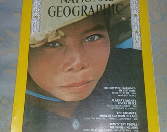 National Geographic Magazine Febuary 1967 near mint condition