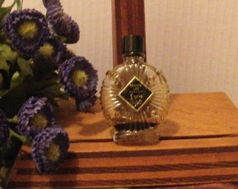 Vintage Lyric Private Life Perfume Bottle 1/3 Fluid Oz Empty Fragrance
