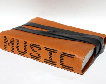 MUSIC - Leather Journal - As seen at the 2012 CMA Awards Gift Lounge