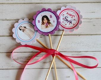 Violetta Cupcake Topper