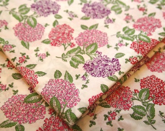 Liberty tana lawn fabric - Freya D, pink and purple flower bouquet, floral print fabric, cute floral fabric, fat eighth