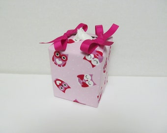 Tissue Box Cover/Pretty Owl