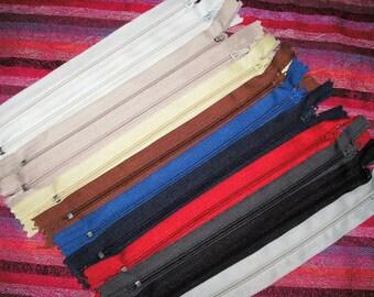 12 zippers, 17 cm (376)