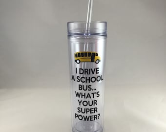 School bus driver gift, i drive a school bus whats your superpower, keep calm only one more stop, back to school, christmas gift