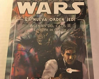 Star Wars - Agents of Chaos II: Jedi Eclipse - The New Jedi Order - James Luceno (Spanish edition paperback)