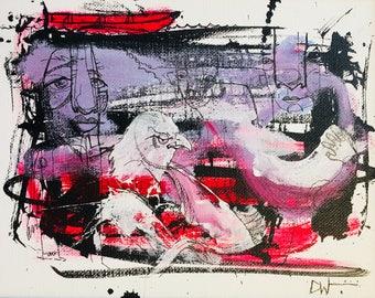 Lakeside Dreams - 8x10 on Canvas Board