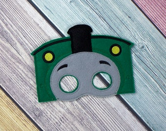 Green Train Mask