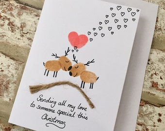 Someone Special Christmas Card - Boyfriend Christmas Card - Girlfriend Christmas Card - To my Wife Christmas Card - To my Husband Christmas