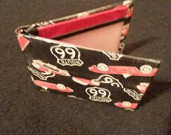 Route 66 Cars Duct Tape Bifold Wallet