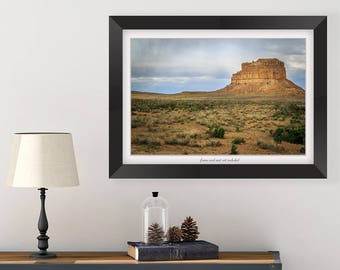 Southwest Wall Art - New Mexico Landscape - Nature Photography Print - Landscape Photo - Living Room Wall Decor - Southwest Art - Desert Art