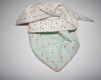 Kids reversible scarf