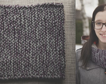 1 round infinity scarf