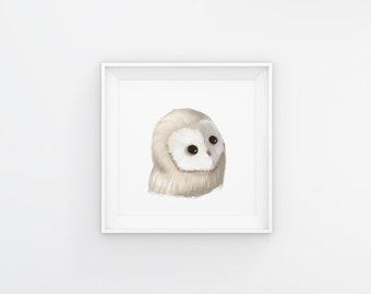 Woodland Owl Digital Download
