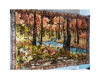 HUGE Forest Scene Wall Tapestry