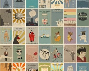 Minimalist Movie Prints - 35 prints