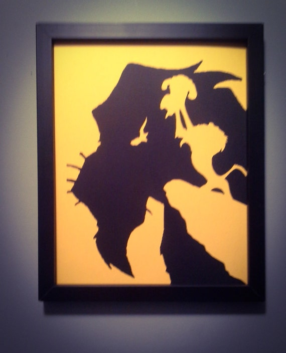 The Lion King Scar wall art
