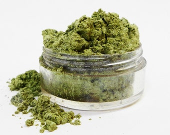 Jaded Mineral Malkeup Green Jaded  Eye Shadow 10g Sifter Jar Eyeshadow