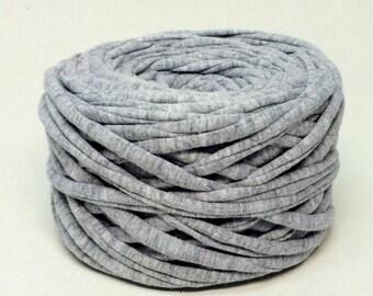 20meters Gray fabric yarn grey T-shirt yarn grey tshirt yarn cotton yarn crochet yarn zpagetti yarn thread tricot yarn Necklace Bracelet