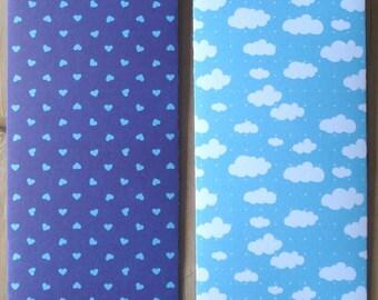 Envelope system, savings envelope, money envelope, money paper envelope, envelope set paper, cash envelope system, money envelope blue