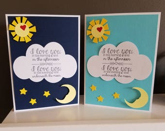 I Love You in the Morning Card Set